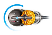 Dyson Dc39 Origin Canister Vacuum Yellow Refurbished