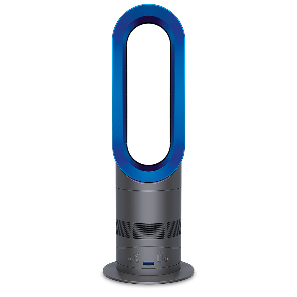 dyson am04 hot cool fan heater iron silver. Black Bedroom Furniture Sets. Home Design Ideas
