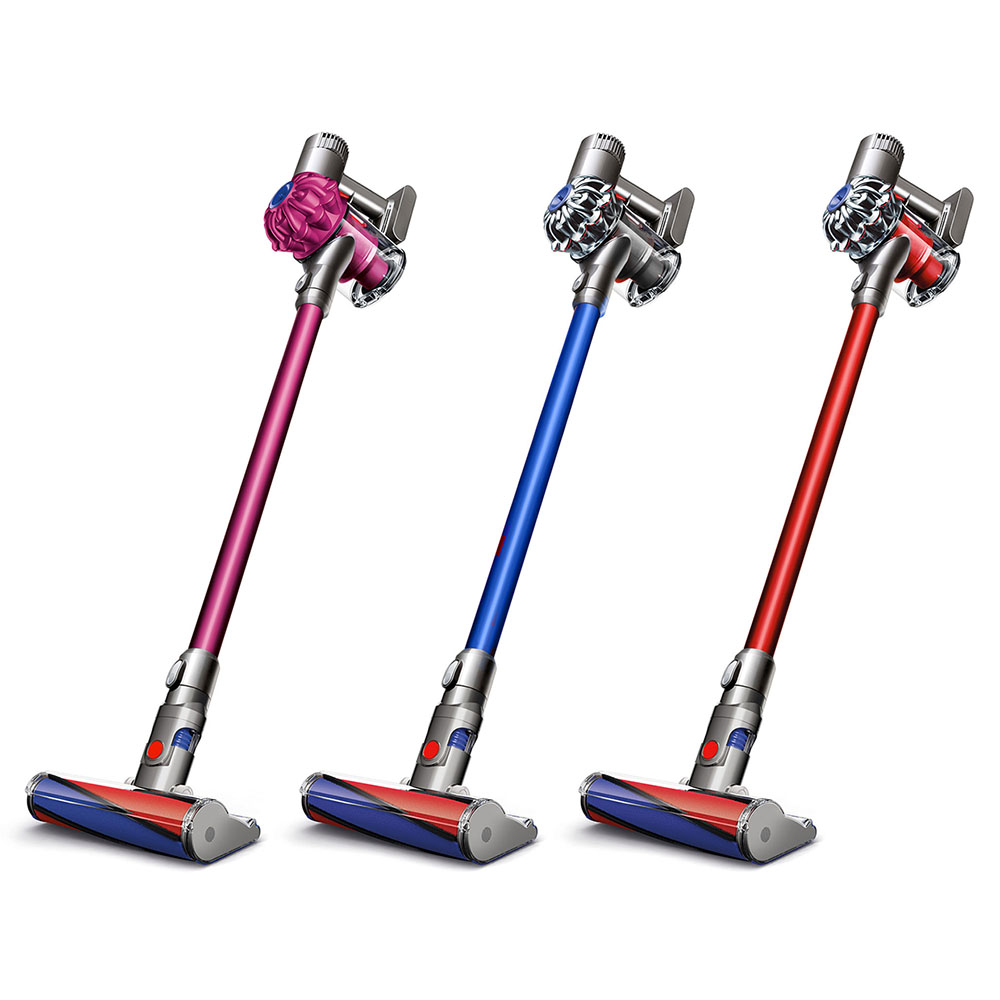 dyson sv06 v6 fluffy pro animal cordless vacuum 3 colors new ebay. Black Bedroom Furniture Sets. Home Design Ideas