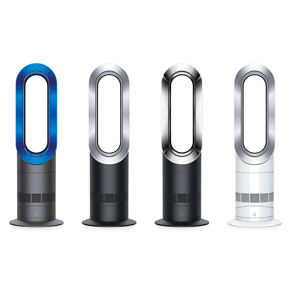 dyson am09 hot cool fan heater 4 colors refurbished. Black Bedroom Furniture Sets. Home Design Ideas