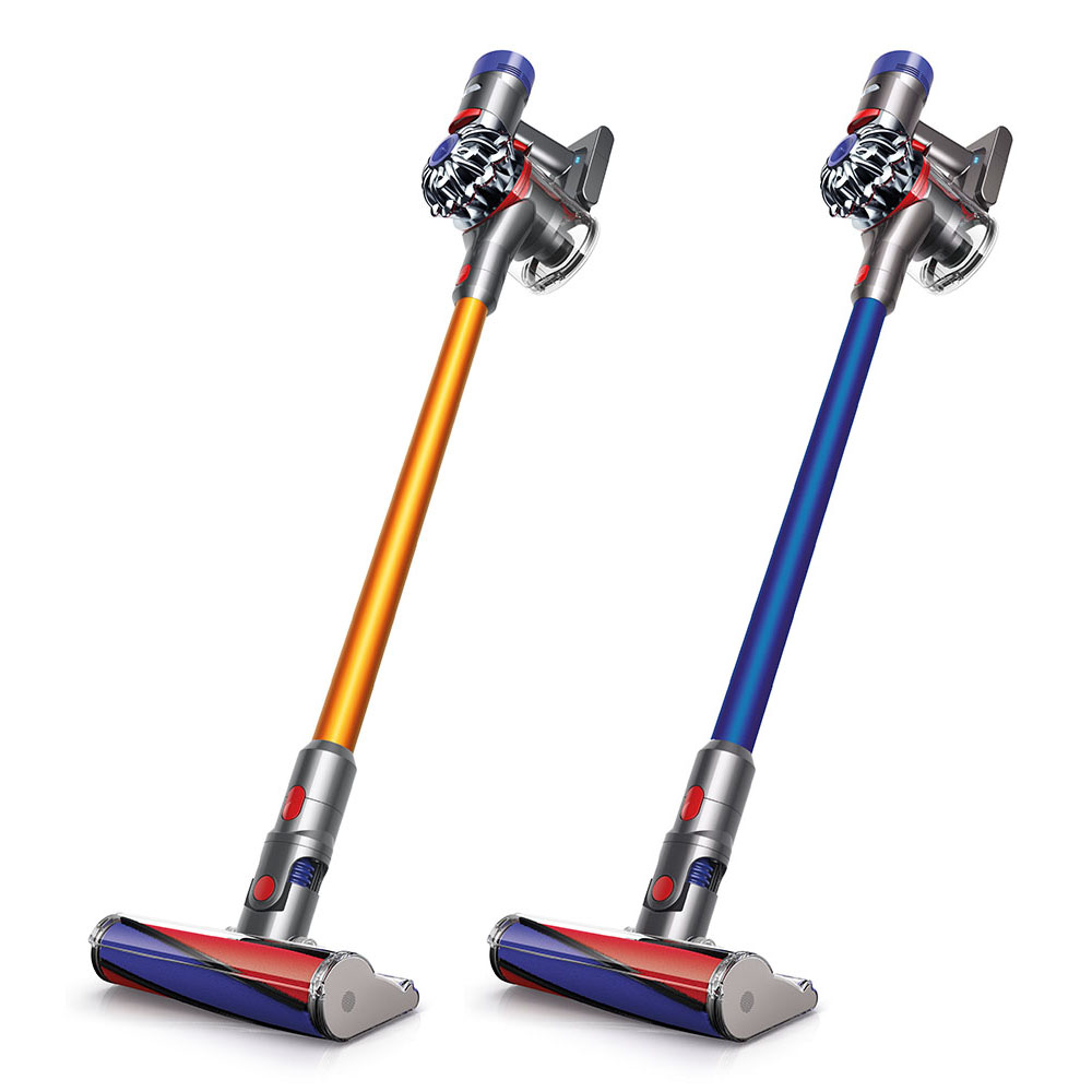 dyson sv10 v8 absolute max cordless vacuum 2 colors. Black Bedroom Furniture Sets. Home Design Ideas